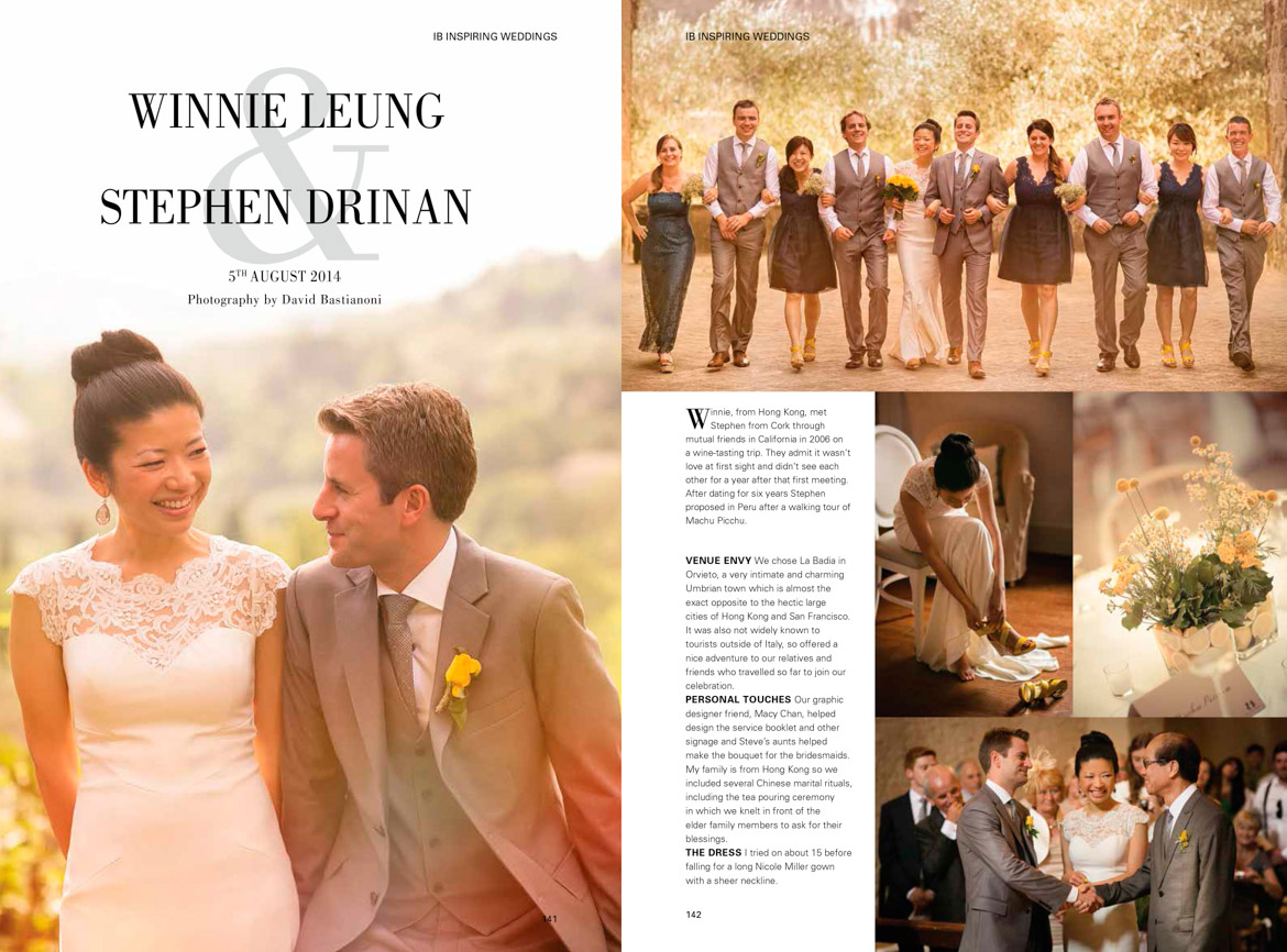 David Bastianoni wedding photographer :: IRISH BRIDES MAG Winnie and Stephen-1