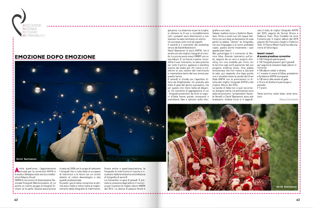 copertina - 1 :: Emozione dopo emozione_ ANFM_ :: Luxury wedding photography - 0 :: copertina - 1