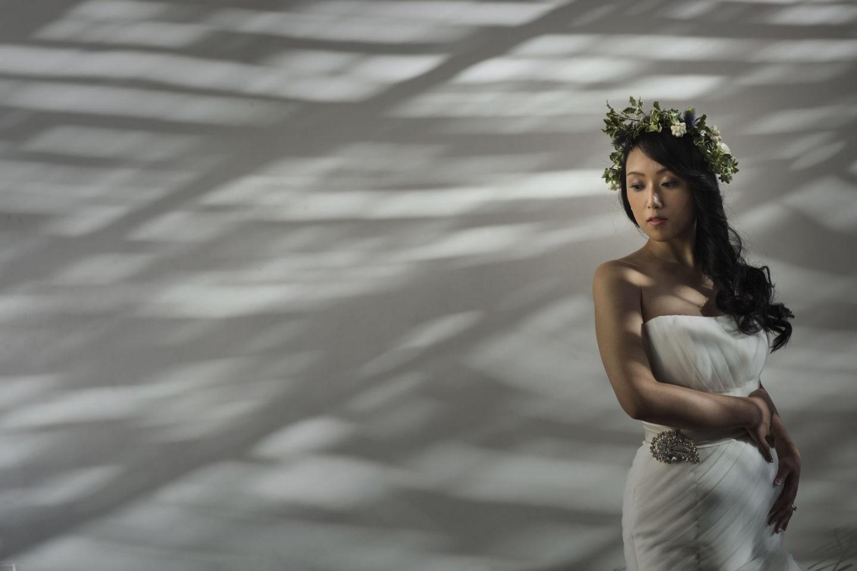 Glam :: Bride alone :: David Bastianoni wedding photographer