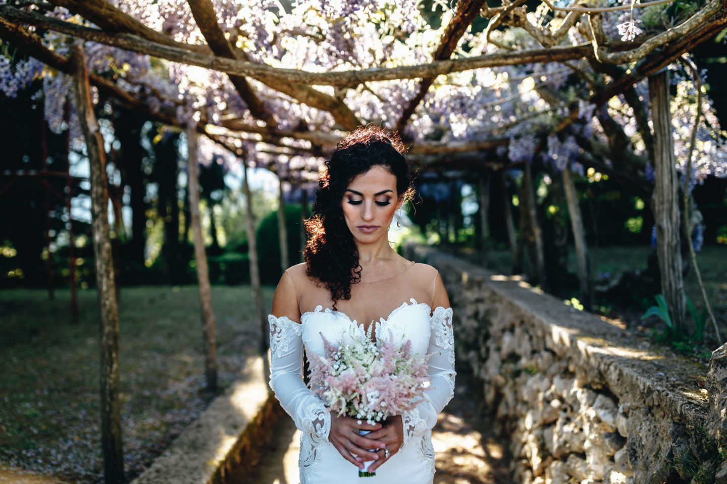Weddingbride :: Bride alone :: David Bastianoni wedding photographer