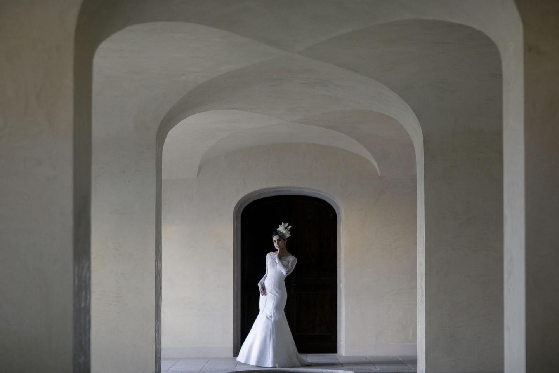 Beautiful :: Bride alone :: David Bastianoni wedding photographer
