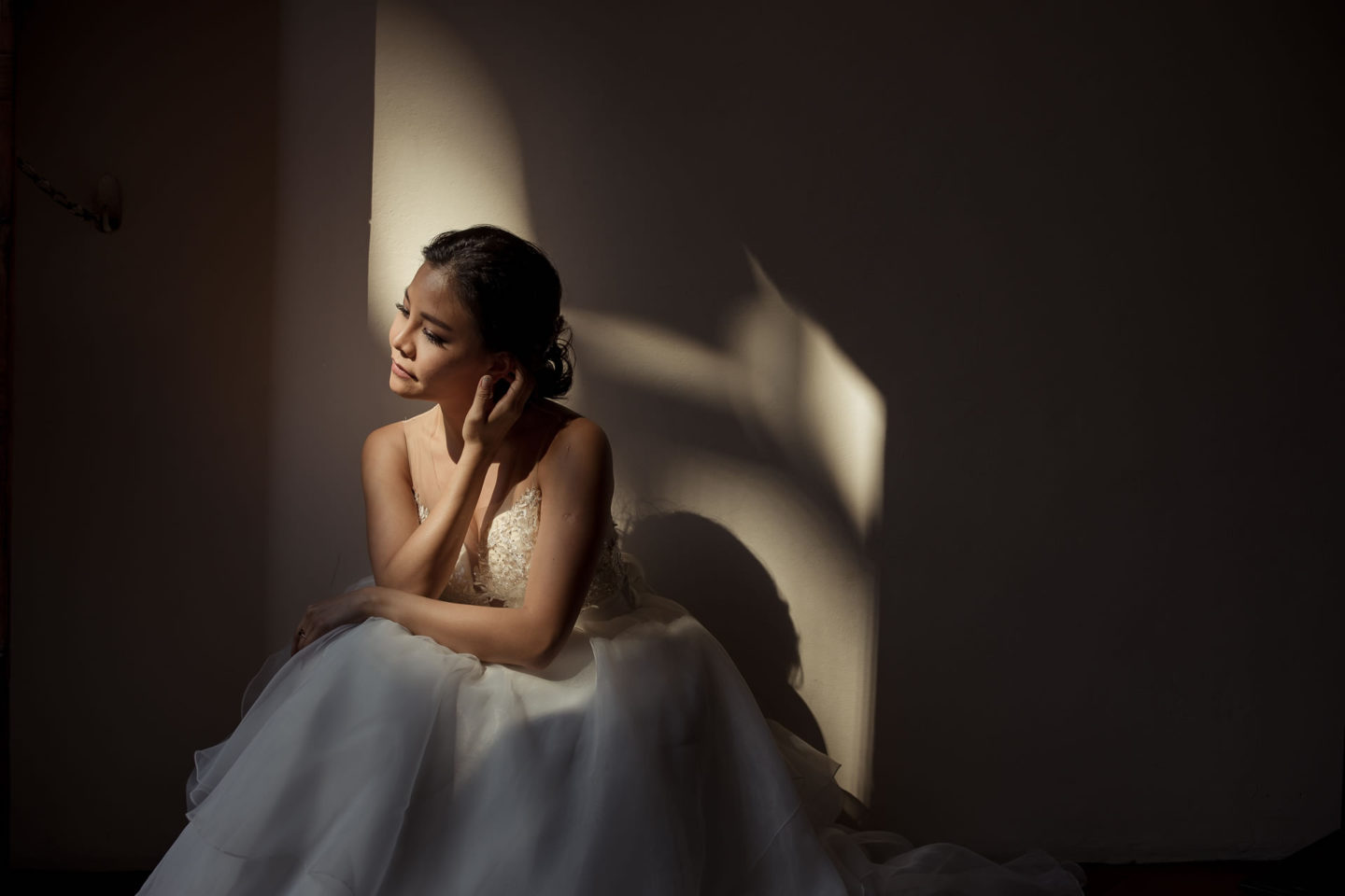 Lover :: Bride alone :: David Bastianoni wedding photographer