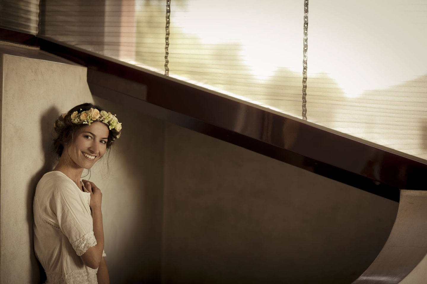 Simplicity :: Bride alone :: David Bastianoni wedding photographer