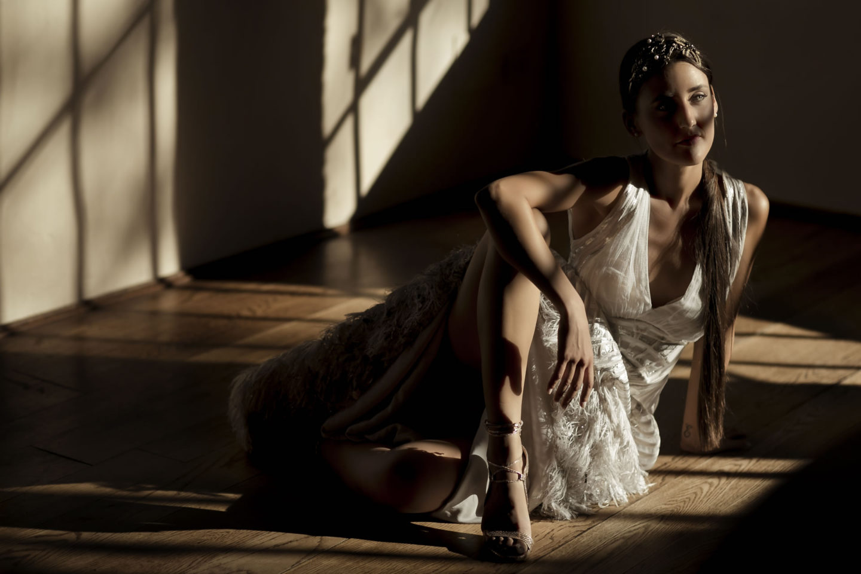 Fashion :: Bride alone :: David Bastianoni wedding photographer