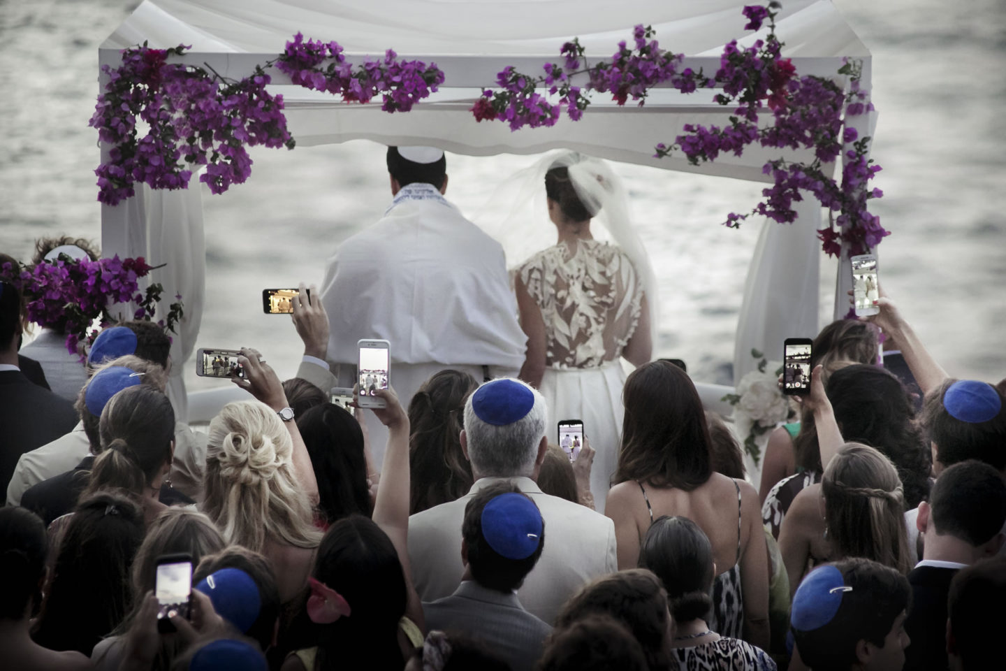 Smartphone :: Ceremony :: David Bastianoni wedding photographer