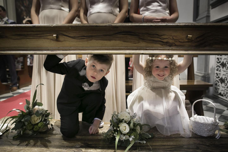 Playful :: Ceremony :: David Bastianoni wedding photographer