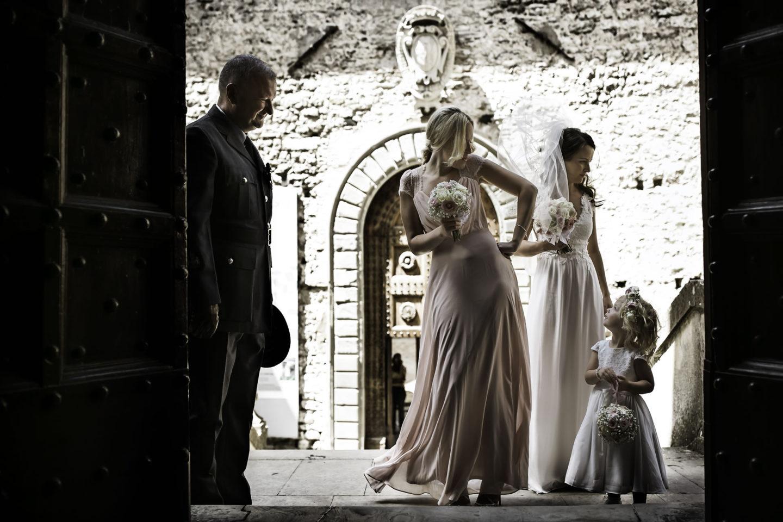 Flower Girl :: Ceremony :: David Bastianoni wedding photographer