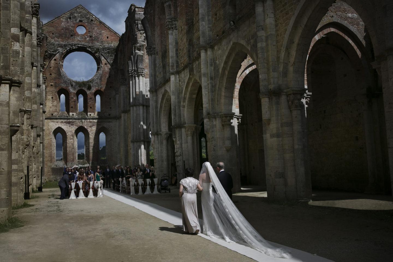 Abbey :: Ceremony :: David Bastianoni wedding photographer