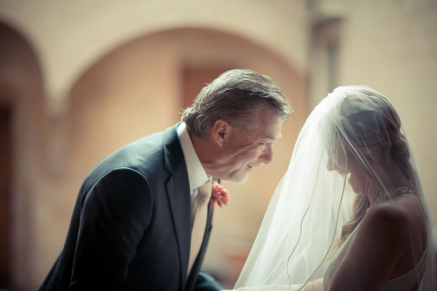 Father and Daughter :: Ceremony :: David Bastianoni wedding photographer