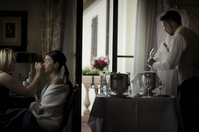 Eyemakeup :: Getting ready :: David Bastianoni wedding photographer