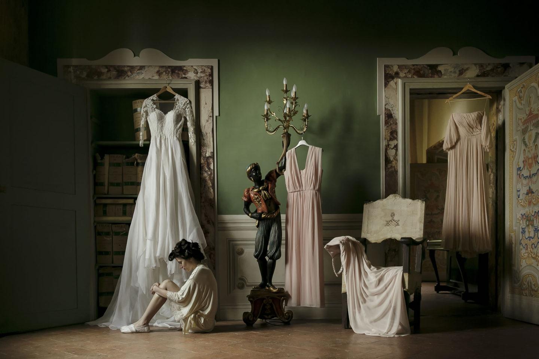 Waiting :: Getting ready :: David Bastianoni wedding photographer
