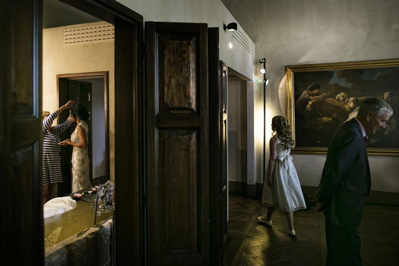 Family :: Getting ready :: David Bastianoni wedding photographer