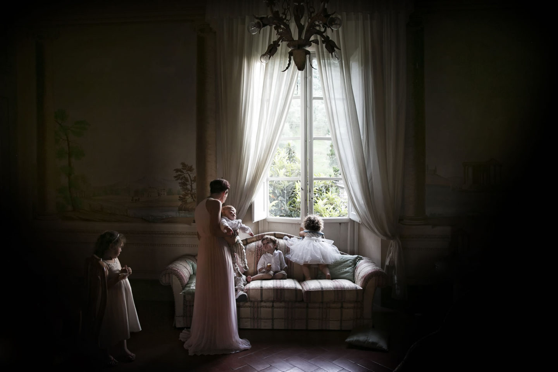 Cute :: Getting ready :: David Bastianoni wedding photographer