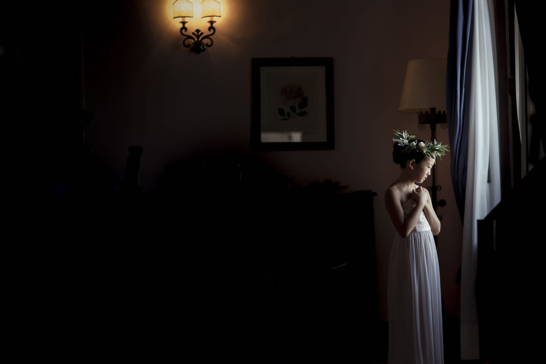 Child :: Getting ready :: David Bastianoni wedding photographer