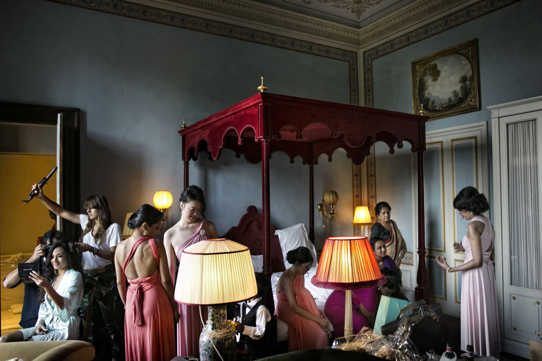 Bride's Room :: Getting ready :: David Bastianoni wedding photographer