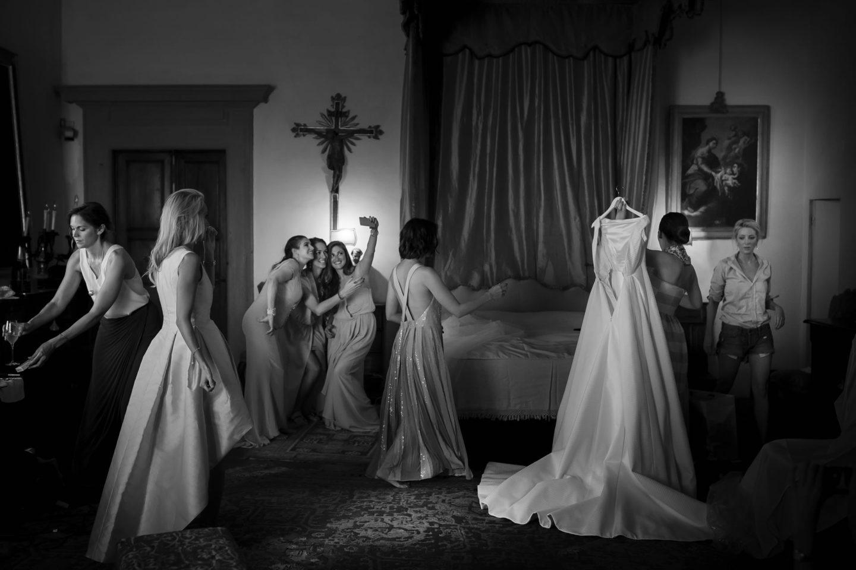 Selfie :: Getting ready :: David Bastianoni wedding photographer