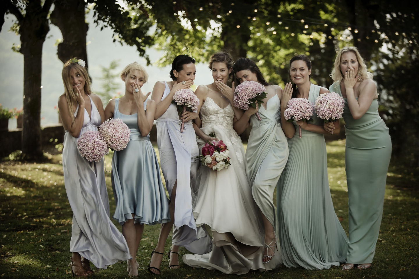 Bridal :: Groups Bridal Parties :: David Bastianoni wedding photographer