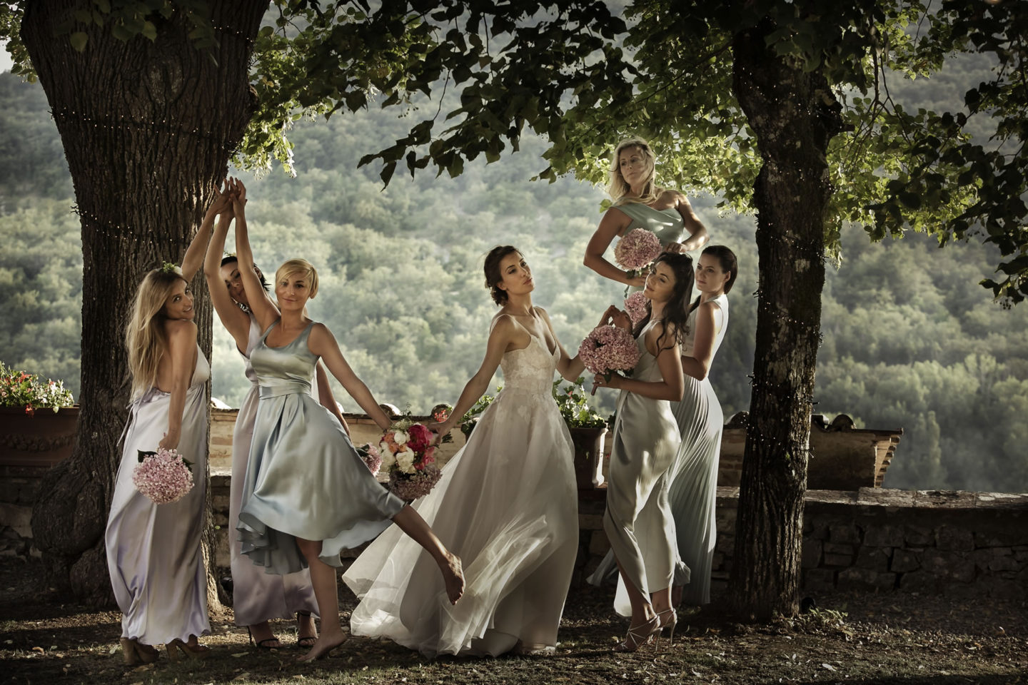 La Primavera :: Groups Bridal Parties :: David Bastianoni wedding photographer