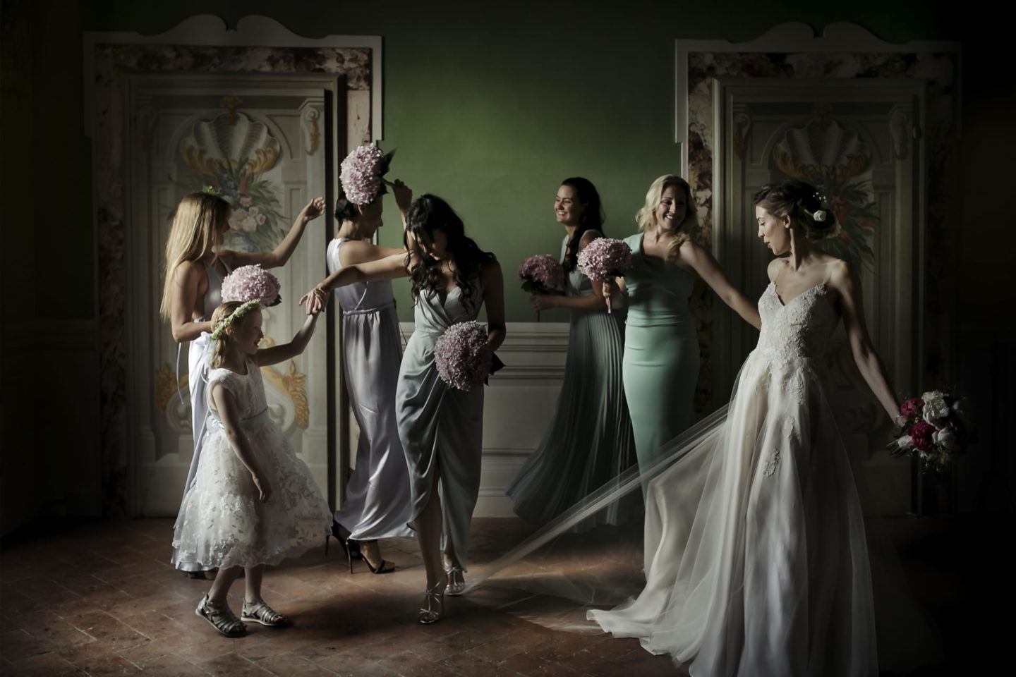 Unexpected :: Groups Bridal Parties :: David Bastianoni wedding photographer