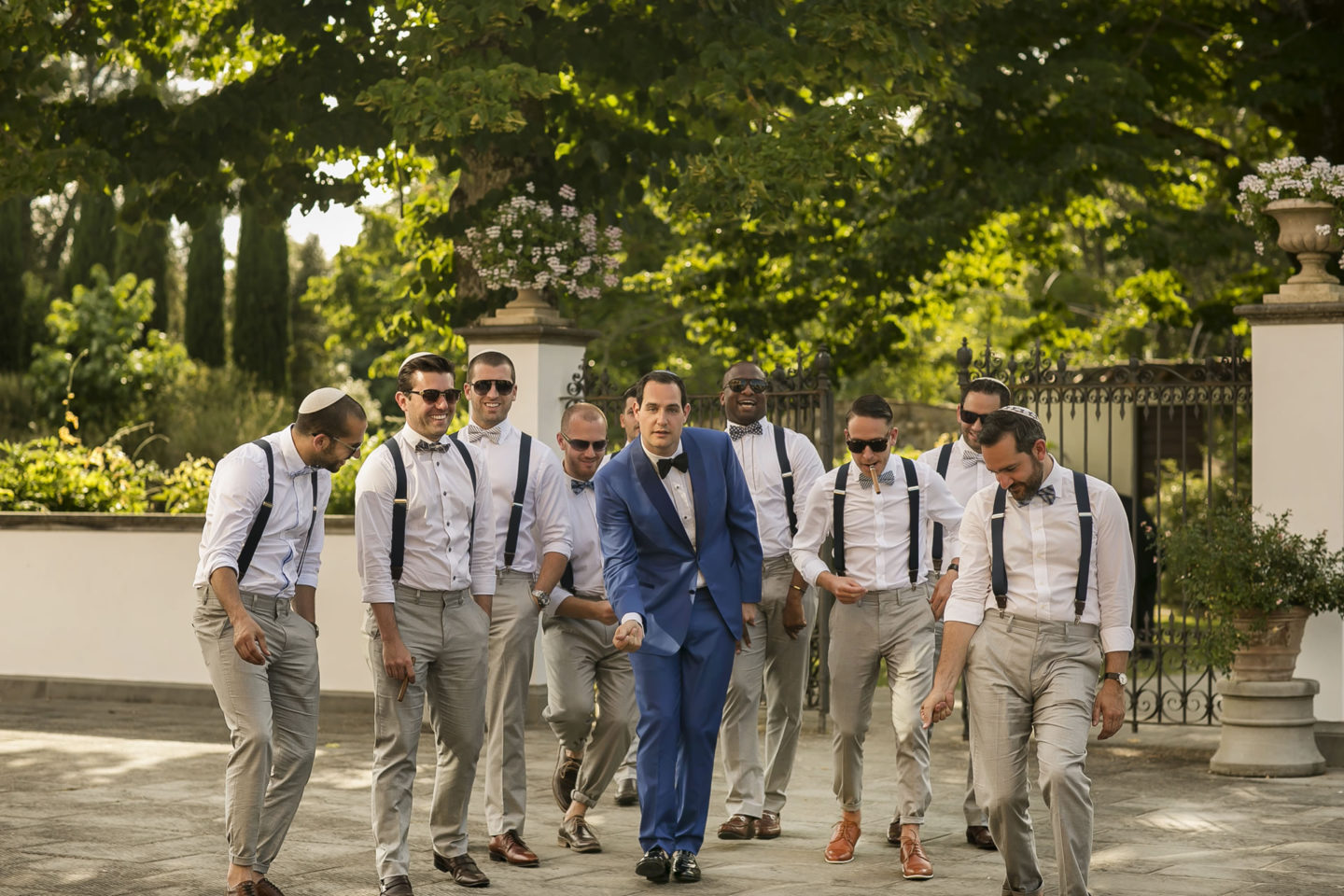 Italian Style :: Groups Bridal Parties :: David Bastianoni wedding photographer