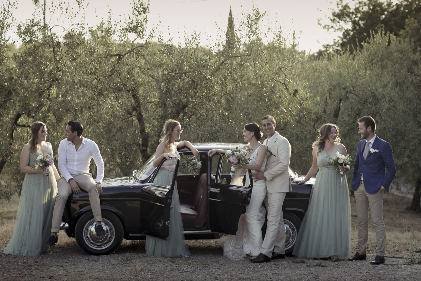 Olive :: Groups Bridal Parties :: David Bastianoni wedding photographer