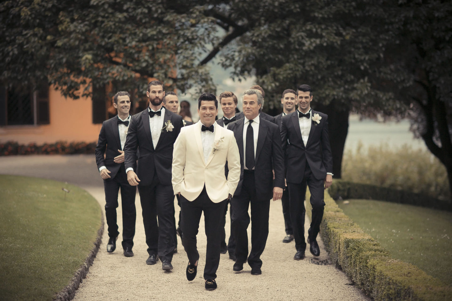 Gentlemen :: Groups Bridal Parties :: David Bastianoni wedding photographer