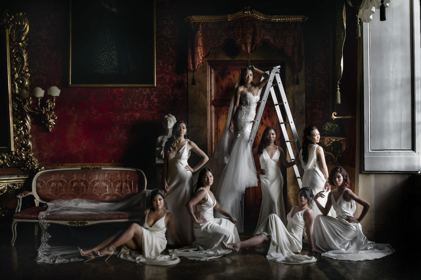 Chic :: Groups Bridal Parties :: David Bastianoni wedding photographer
