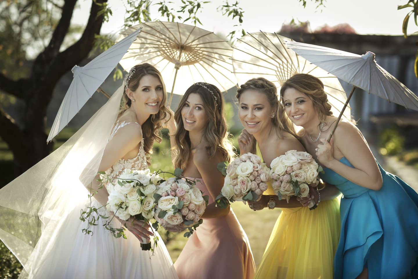 Pantone :: Groups Bridal Parties :: David Bastianoni wedding photographer