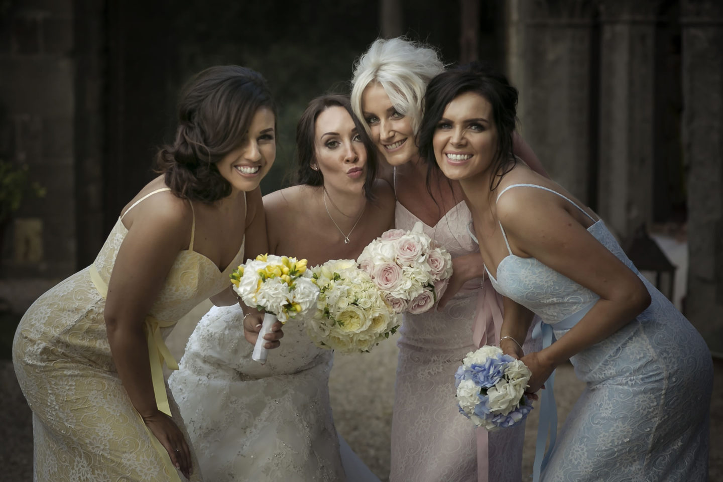Bridesmaids :: Groups Bridal Parties :: David Bastianoni wedding photographer