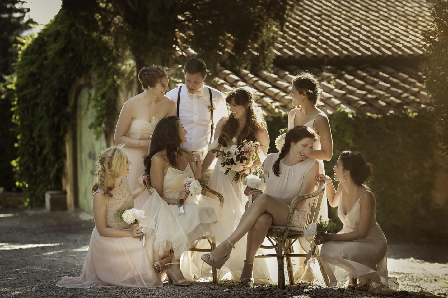 Countryside :: Groups Bridal Parties :: David Bastianoni wedding photographer