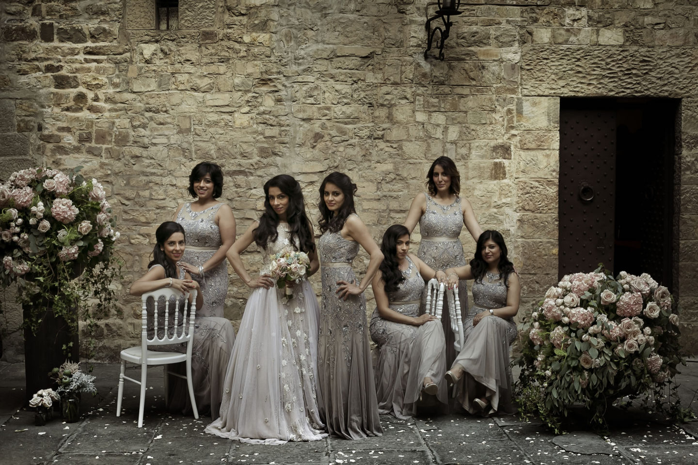 Bridal Party :: Groups Bridal Parties :: David Bastianoni wedding photographer