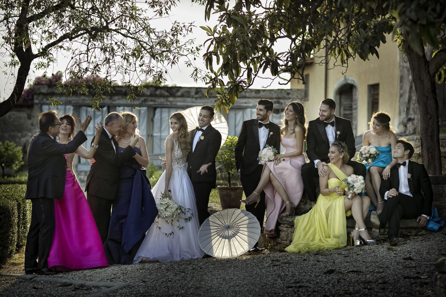 Big Family :: Groups Bridal Parties :: David Bastianoni wedding photographer