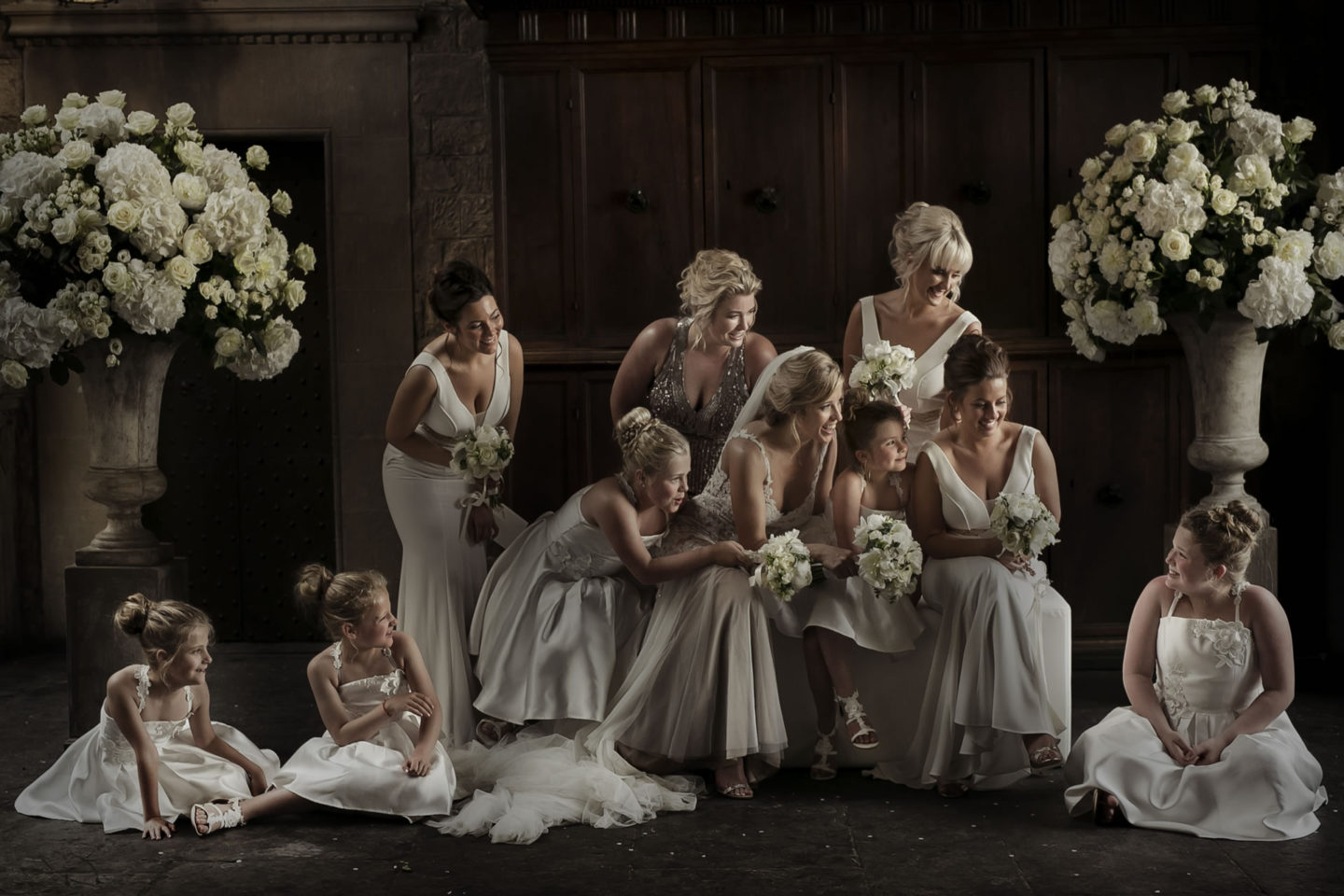 Weddingparty :: Groups Bridal Parties :: David Bastianoni wedding photographer