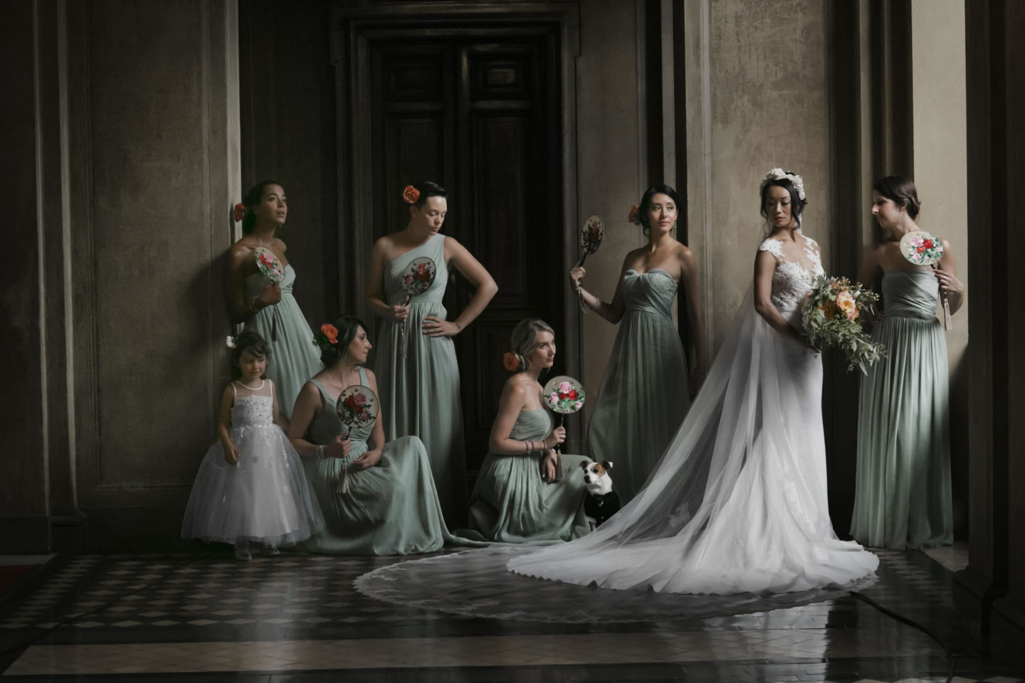 Sleek :: Groups Bridal Parties :: David Bastianoni wedding photographer