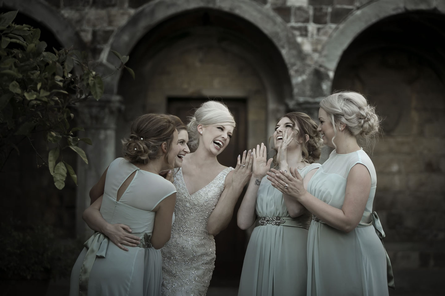 Tiffany :: Groups Bridal Parties :: David Bastianoni wedding photographer