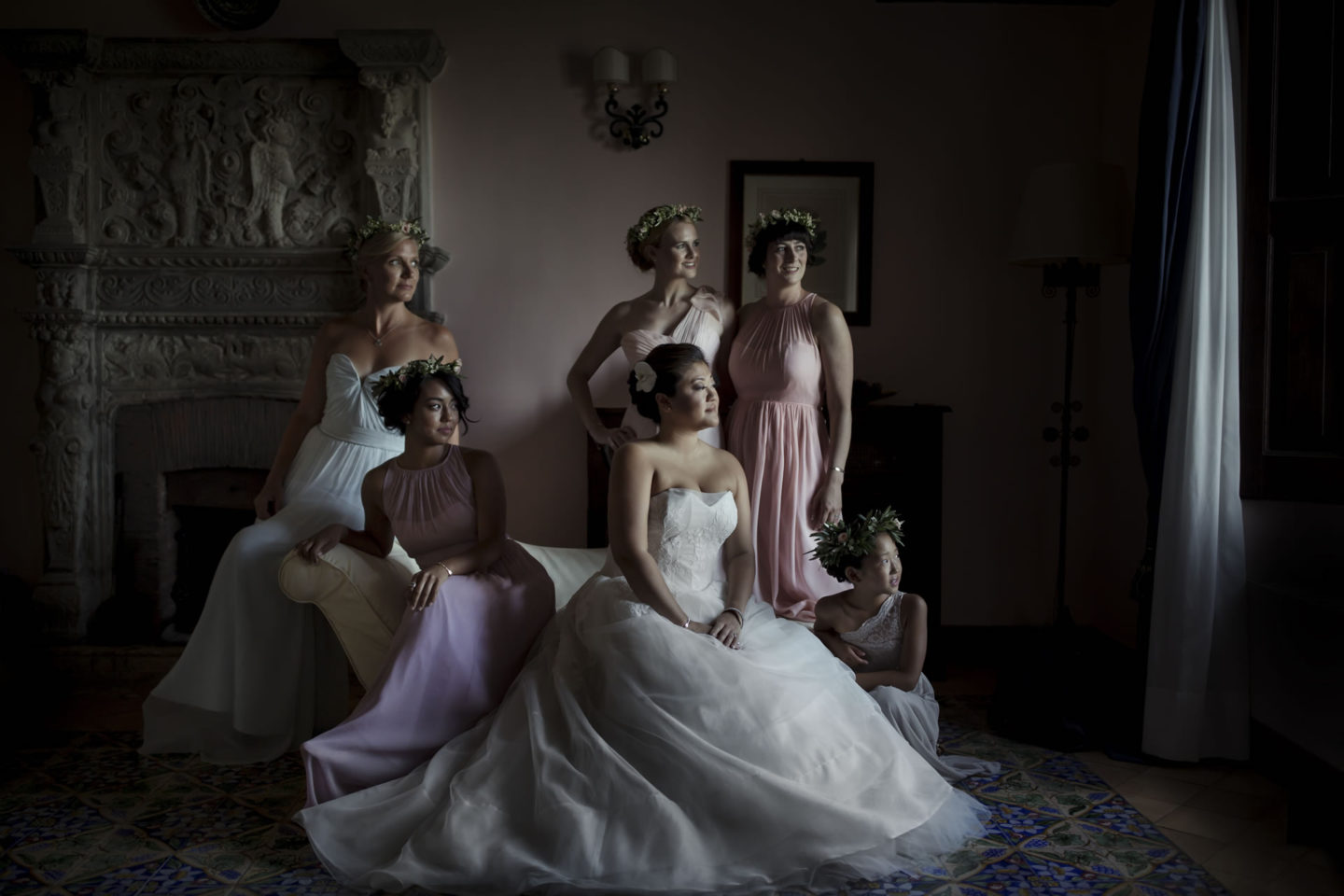 Ladies :: Groups Bridal Parties :: David Bastianoni wedding photographer