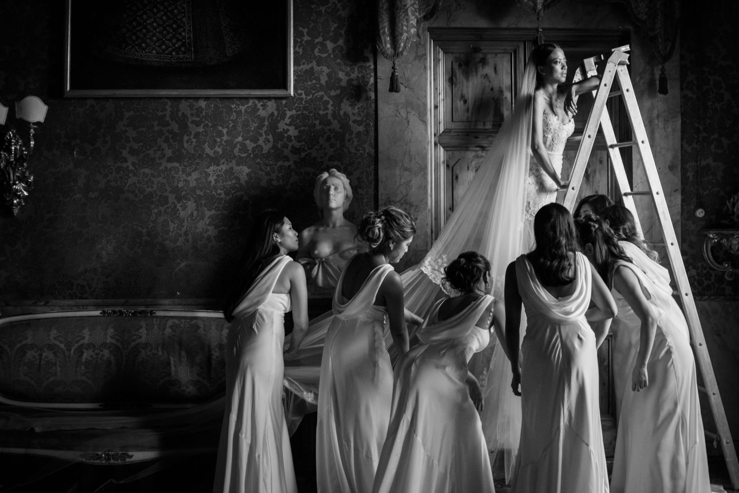 Veil :: Groups Bridal Parties :: David Bastianoni wedding photographer