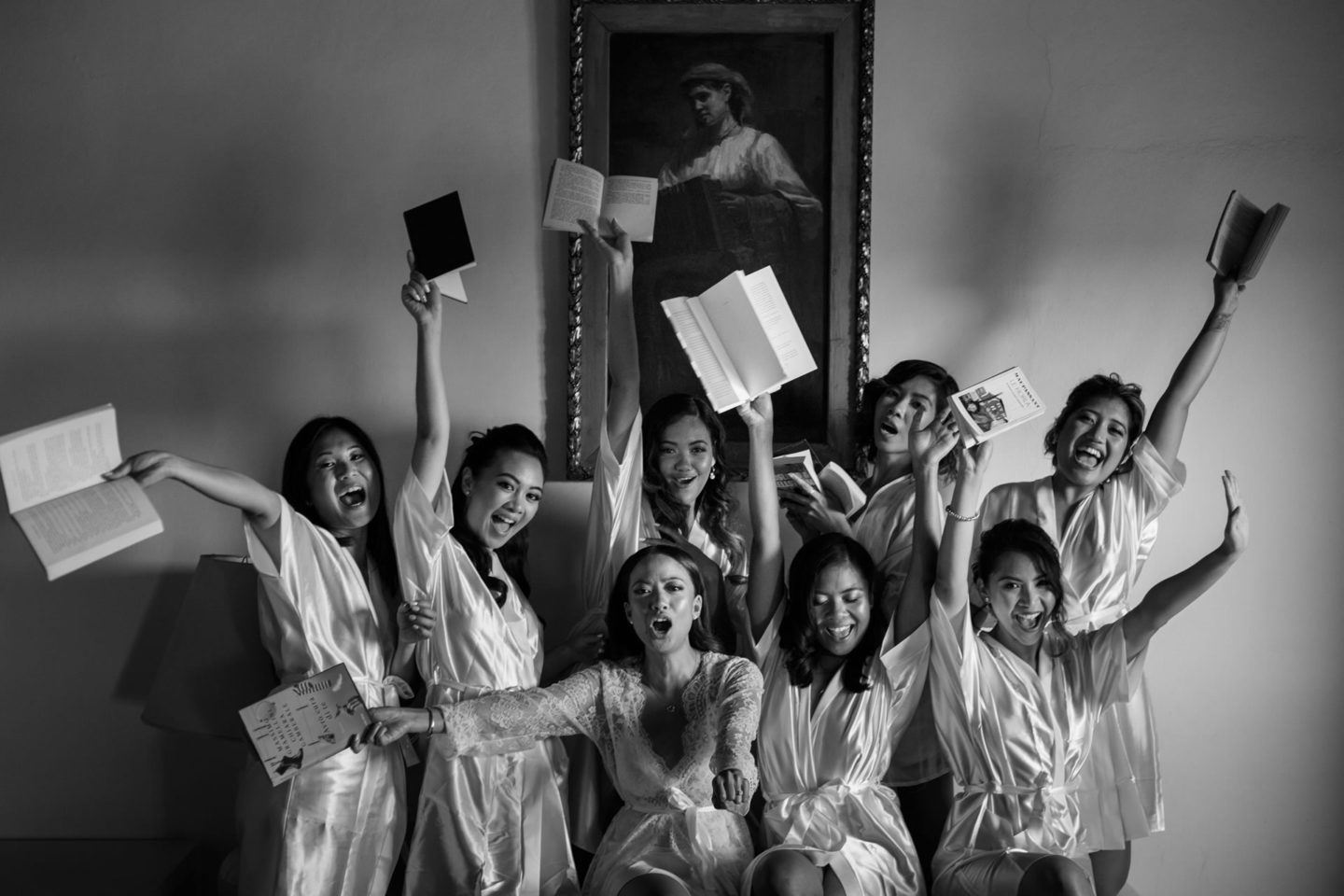 Students :: Groups Bridal Parties :: David Bastianoni wedding photographer