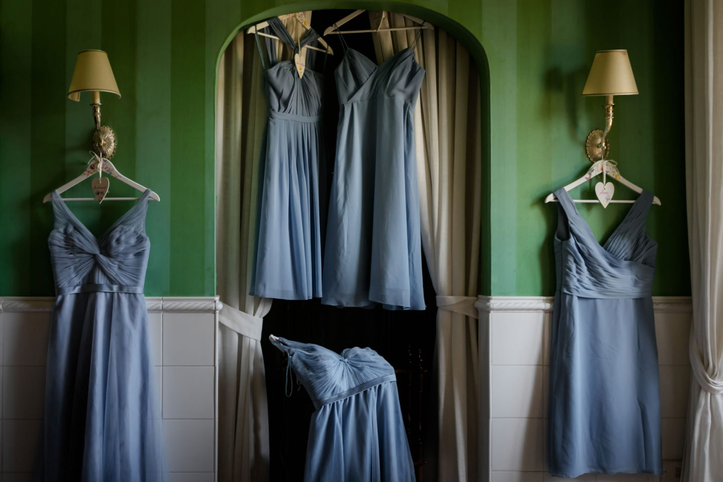 Bridesmaids :: Amazing wedding day at Il Borro :: Luxury wedding photography - 2 :: Bridesmaids