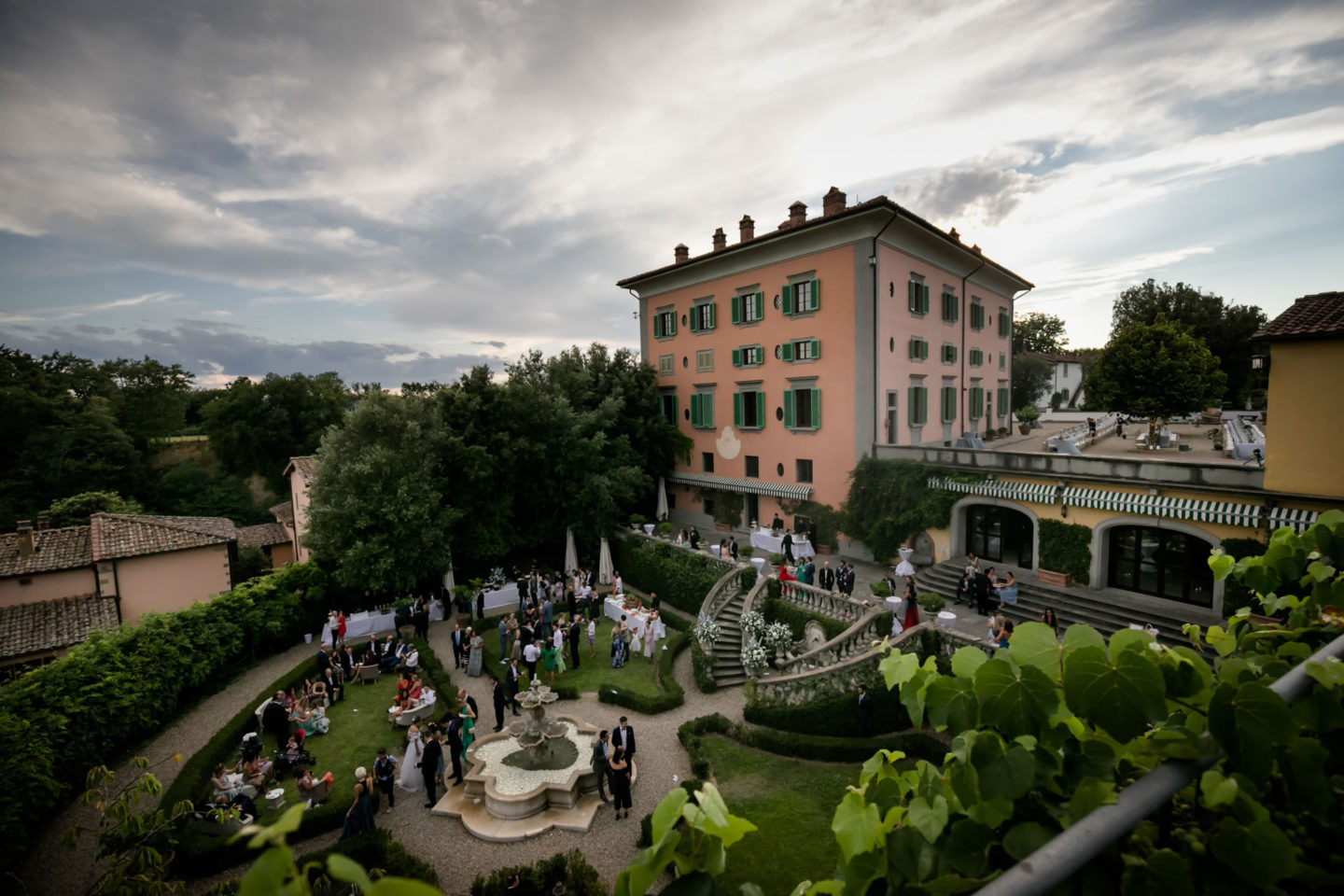 Panorama :: Amazing wedding day at Il Borro :: Luxury wedding photography - 35 :: Panorama