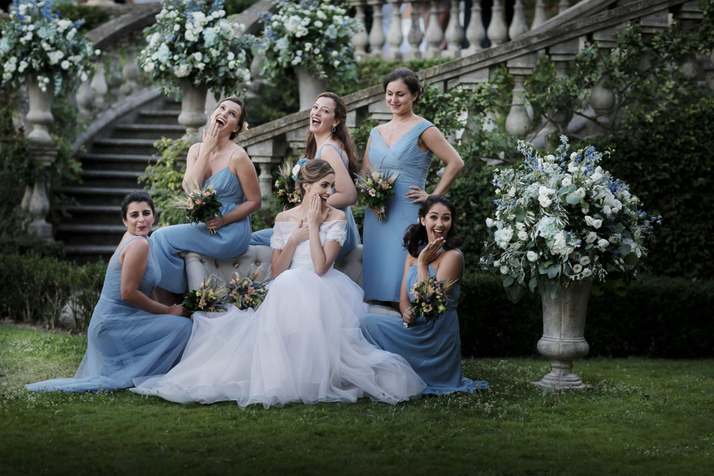 Bridal Party :: Amazing wedding day at Il Borro :: Luxury wedding photography - 36 :: Bridal Party
