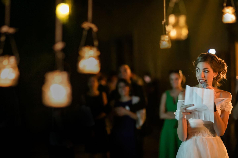 Speeches :: Amazing wedding day at Il Borro :: Photo - 45 :: Speeches