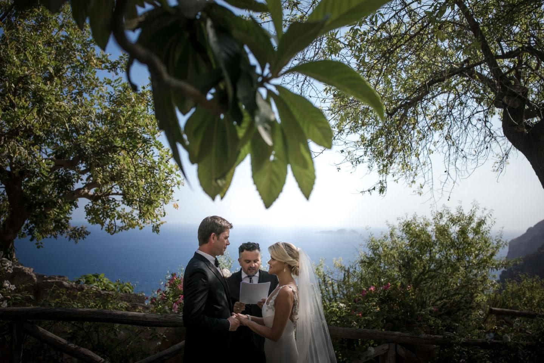 Amalfi Coast :: Wedding in Positano. Sea and love :: Luxury wedding photography - 23 :: Amalfi Coast