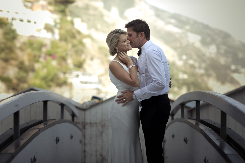 Bridge :: Wedding in Positano. Sea and love :: Wedding photographer based in Florence Tuscany Italy :: photo-38 :: Bridge