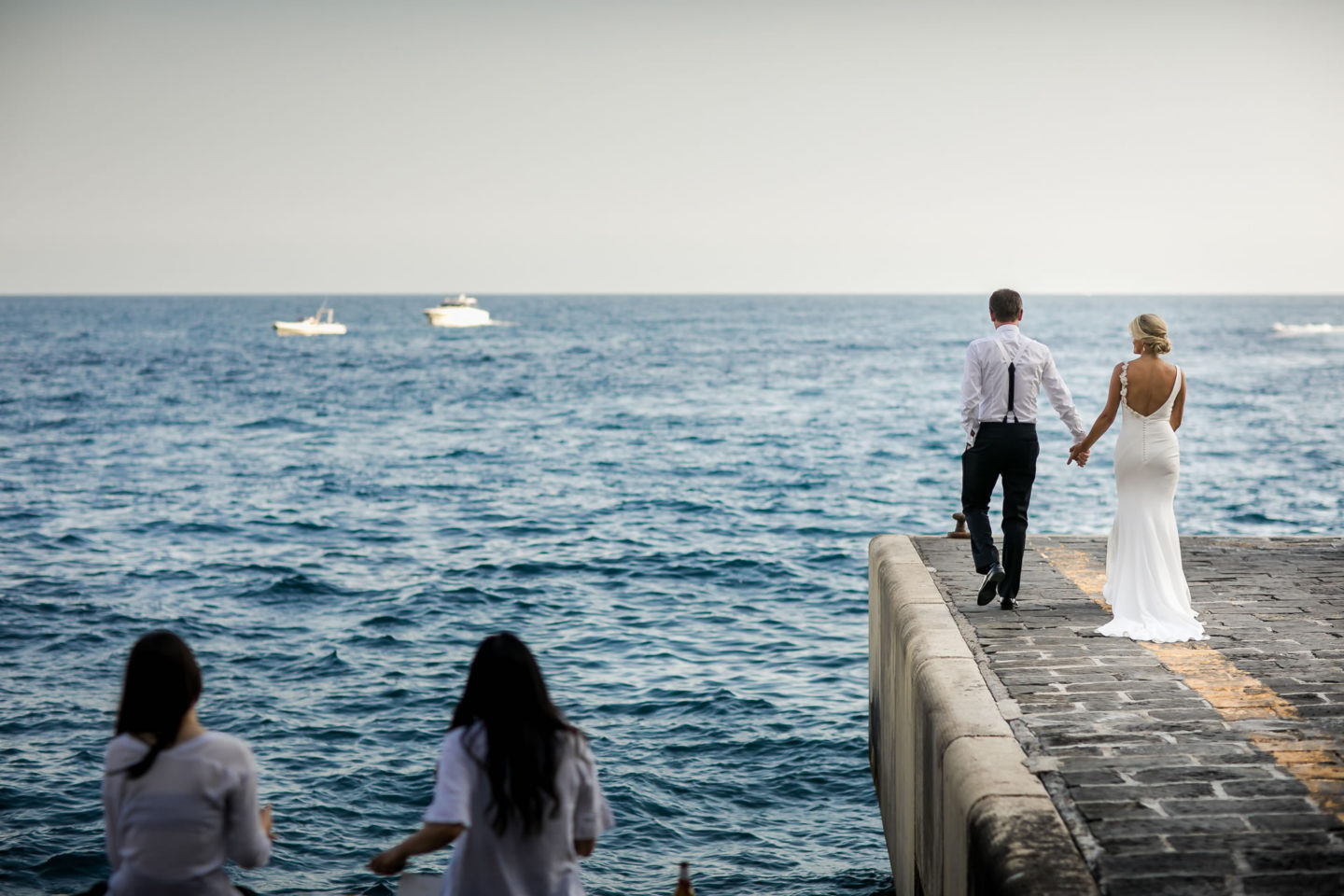 Pier :: Wedding in Positano. Sea and love :: Wedding photographer based in Florence Tuscany Italy :: photo-40 :: Pier