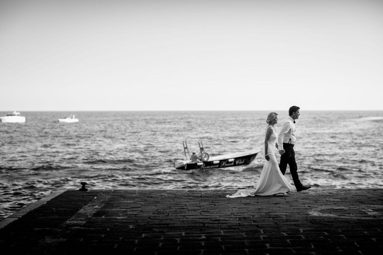 Walk :: Wedding in Positano. Sea and love :: Luxury wedding photography - 43 :: Walk