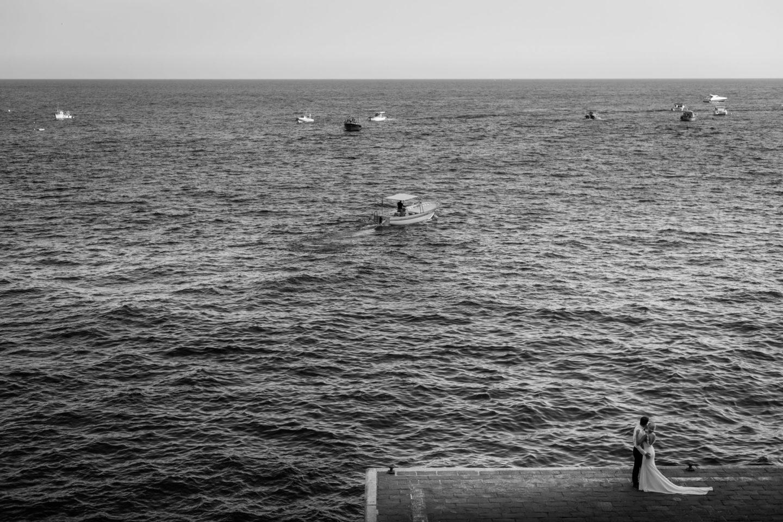Sea :: Wedding in Positano. Sea and love :: Luxury wedding photography - 44 :: Sea