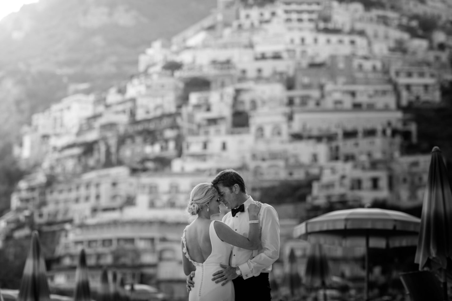 Black And White :: Wedding in Positano. Sea and love :: Luxury wedding photography - 48 :: Black And White