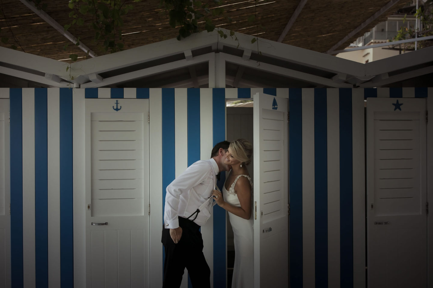 Cabins :: Wedding in Positano. Sea and love :: Wedding photographer based in Florence Tuscany Italy :: photo-50 :: Cabins