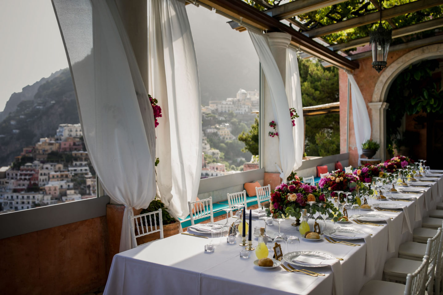 Table :: Wedding in Positano. Sea and love :: Wedding photographer based in Florence Tuscany Italy :: photo-53 :: Table